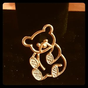 RARE 1980 Avon Animal Pins Teddy Bear Pin